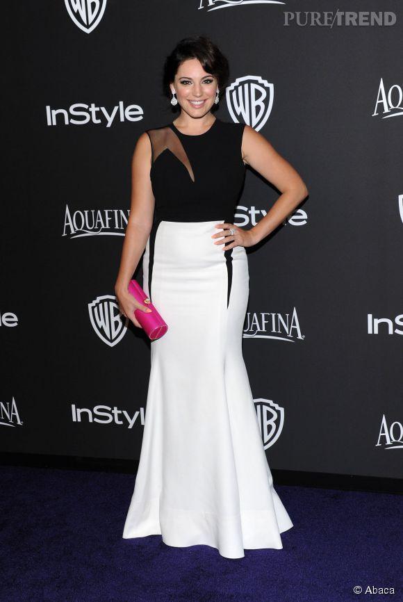 Kelly Brook lors de l'after party WB InStyle Golden Globe au Hilton de Beverly Hills le 11 janvier 2015.