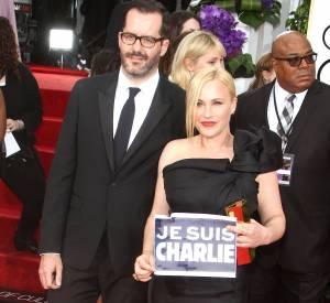 Patricia Arquette et Eric White lors de la 72ème cérémonie des Golden Globes, ce dimanche 11 janvier 2015.