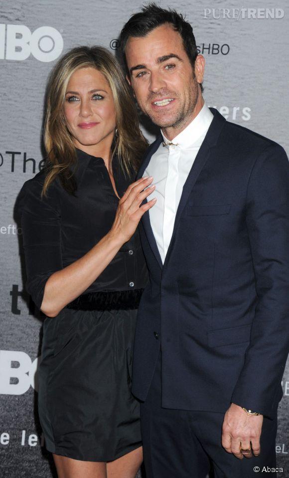 Jennifer Aniston et le nouvel amour de sa vie, Justin Theroux.