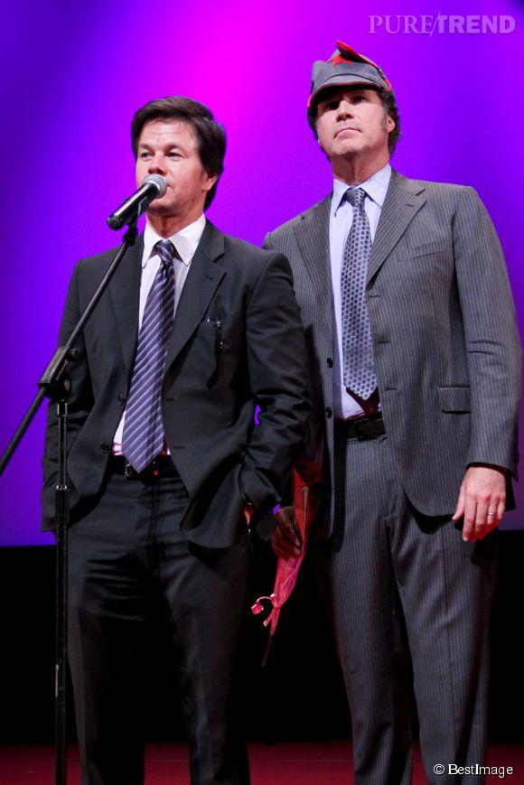 """Mark et Will ont déjà partagé l'écran dans """"Very Bad Cops"""" en 2010."""