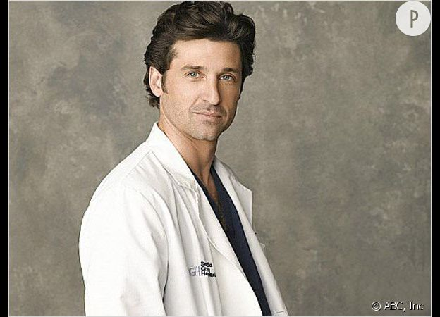 "Patrick Dempsey dans ""Grey's Anatomy""."