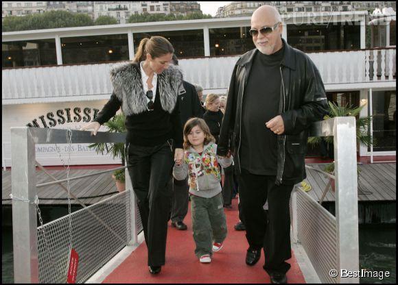 René Charles Angelil était un enfant timide. Cette photo date de 2005.