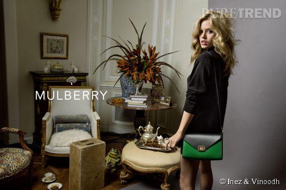 Campagne Printemps-Été 2015 de Mulberry avec Georgia May Jagger.