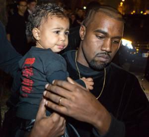 North jette le téléphone de Kanye West... dans les toilettes