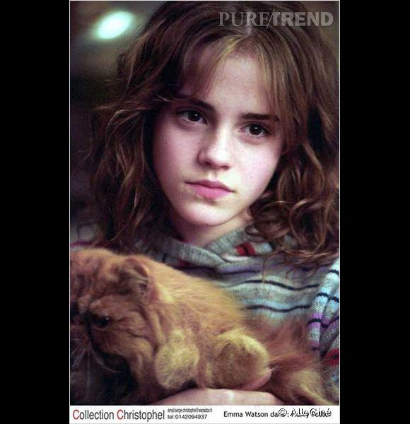 """Emma Watson et son minois renfrogné dans """"Harry Potter""""..."""