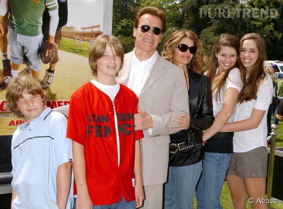 Arnold Schwarzenegger a eu quatre enfants avec Maria Shriver et un fils avec la femme de ménage...
