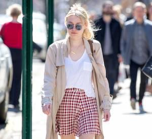 Dakota Fanning : minijupe et cuissardes, la jeune femme se dévergonde !