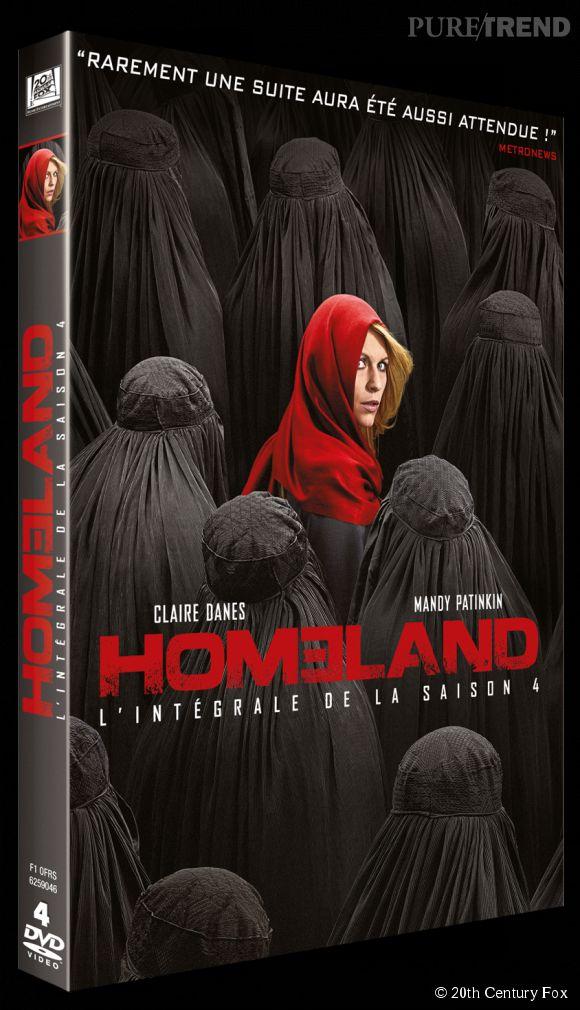 """Homeland Saison 4"", le DVD sort le 22 avril 2014."