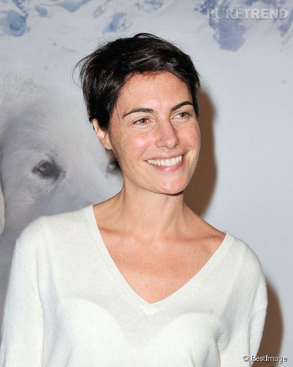 Alessandra Sublet, une animatrice pétillante et très naturelle.