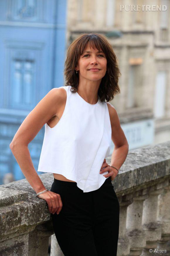Sophie Marceau, atout charme du Festival de Cannes.