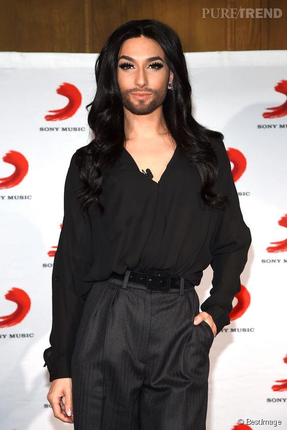 Conchita Wurst, une chanteuse pas comme les autres.