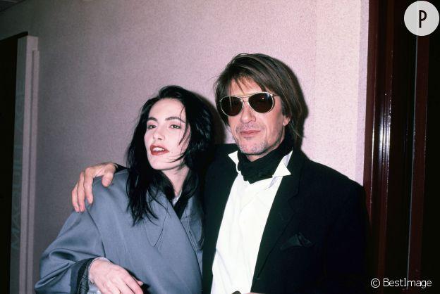 Jacques Dutronc en compagnie de la chanteuse Lio.