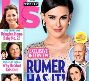 Rumer Willis revient sur son enfance dans le nouveau numéro d'US Weekly du 11 mai 2015.