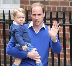 Le Prince William présente sa petite soeur à George !