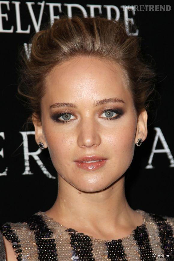 """Jennifer Lawrence élue actrice la plus """"bankable"""" de 2014."""