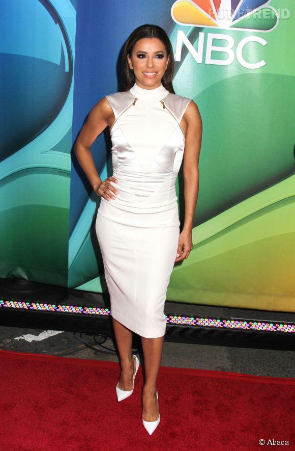 Eva Longoria s'est rendue hier soir, lundi 11 mai 2015, à une soirée organisé pour  NBC .
