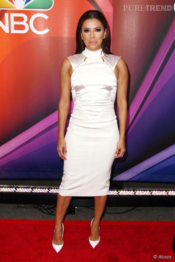 """Eva Longoria a présenté sa nouvelle série """"Hot & Bothered"""" ."""