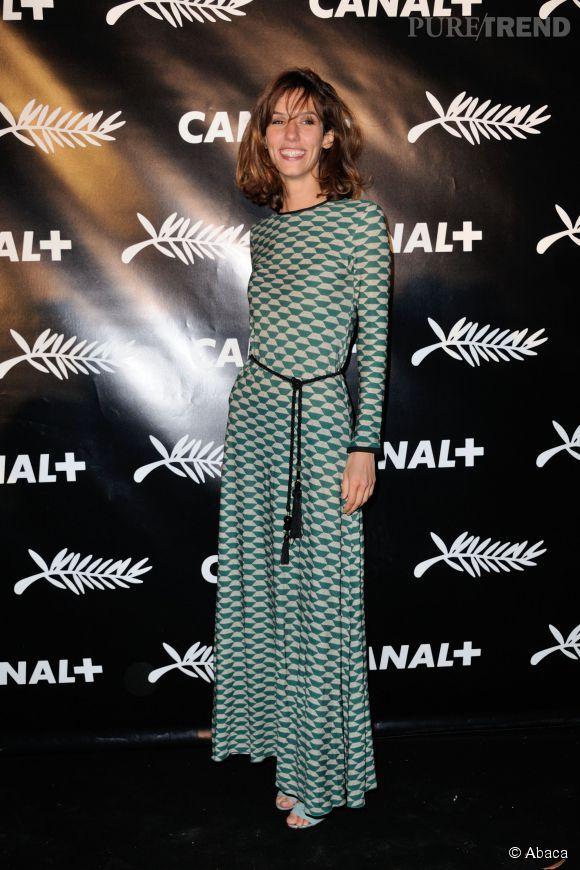Doria Tillier à Cannes, jeudi 15 mai 2015.h