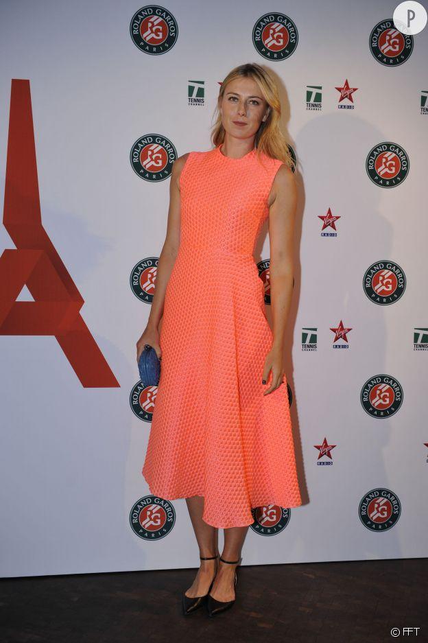 Maria Sharapova canon en Roksanda Ilincic.