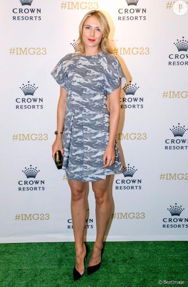 Maria Sharapova, tennis woman so sexy.