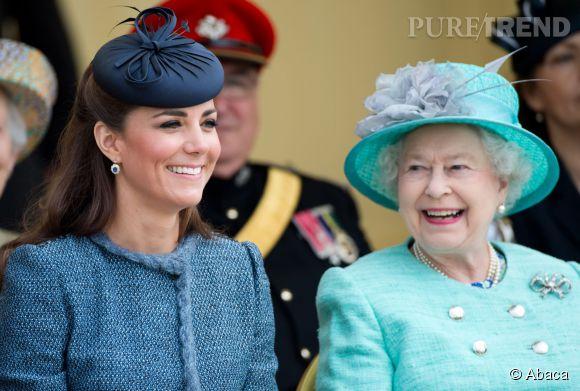 Kate Middleton refuse d'obéir à la reine.