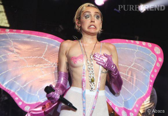 Miley Cyrus victime d'un nipplegate sur Instagram.
