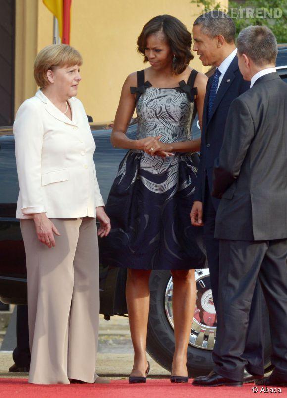 Angela Merkel, toujours en tête du classement des femmes les plus puissantes du monde.