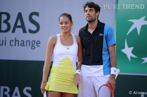 Alizé Lim, la plus lookée des joueuses de tennis françaises aux côtés de Jérémy Chardy.
