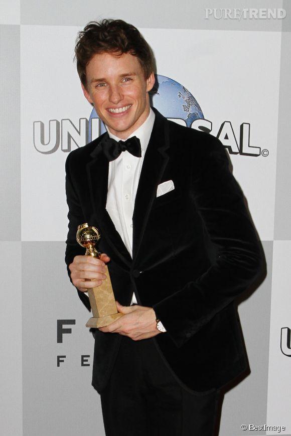 """Eddie Redmayne a obtenu de nombreux prix pour sa performance dans """"Une merveilleuse histoire du temps""""."""