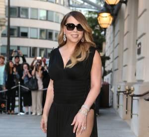 Mariah Carey : le fendu qui tue, son look très hot à Paris