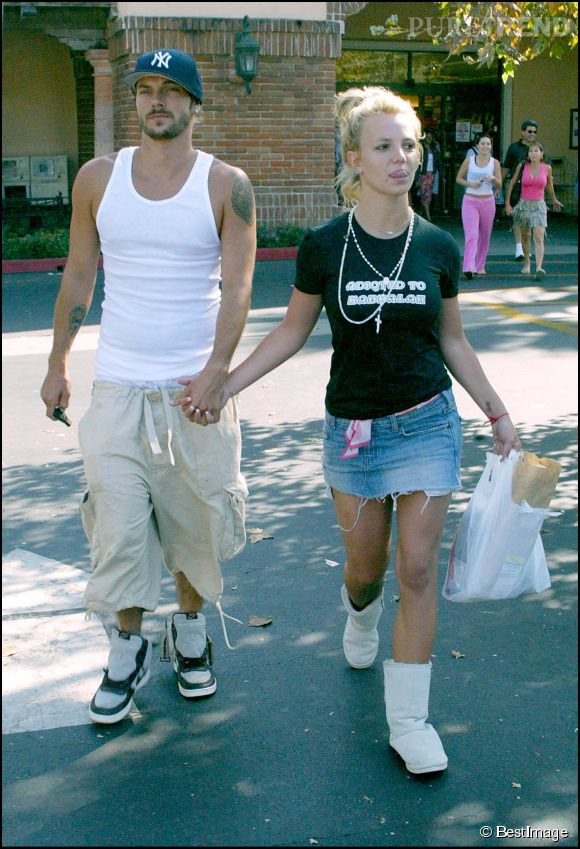 Britney Spears et Kevin Federline ont été marié de 2004 à 2007.