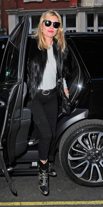 Kate Moss à Londres le 1er mai 2015.