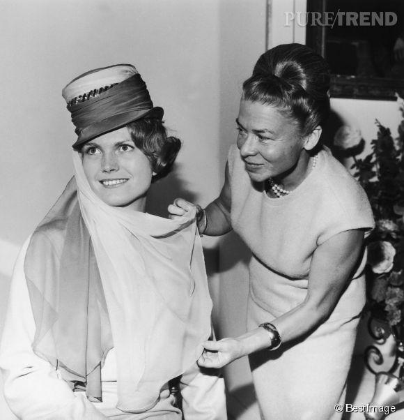 Madame Carven, ici en 1962, est décédée à l'âge de 105 ans.