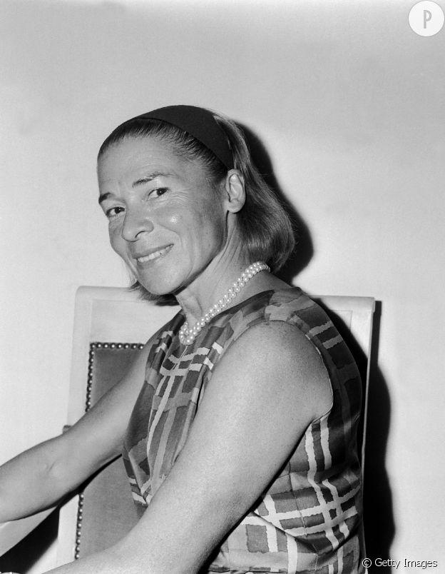Madame Carven en 1964.