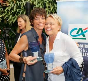 Muriel Robin et Anne Le Nen : complices et souriantes, l'amour au grand jour