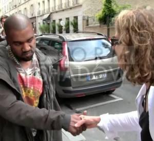 Kanye West et la célèbre passante qui ne savait pas qui il était.