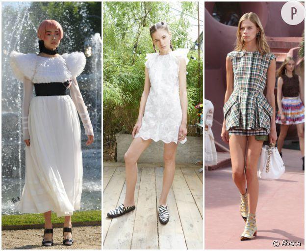 Collections croisière Chanel 2012/2013, Giamba 2015/2016 et Dior 2015/2016.