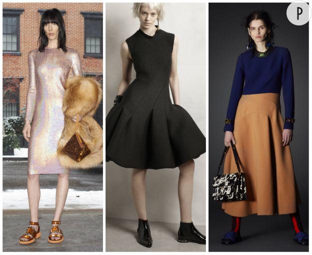 Givenchy Pre-Fall 2014, Lanvin Pre-Fall 2014 et Marni Pre-Fall 2014.