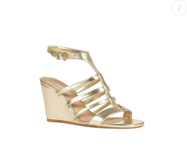 les chaussures compenses - Chaussure Compense Mariage