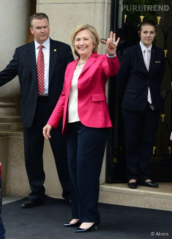 Hillary Clinton est bien partie pour être la première femme présidente des États-Unis.