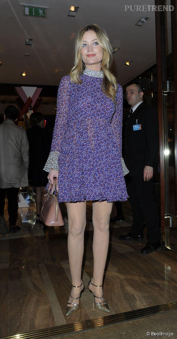 Laura Whitmore a tout bon en robe à fleurs Topshop !