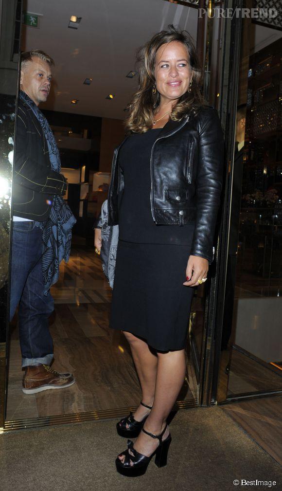 Jade Jagger, un look qui a du chien à la soirée Louis Vuitton LCM à Londres le 10 juin 2015.