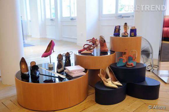 La marque de chaussures Malone Souliers a pris ses quartiers au Bon Marché.