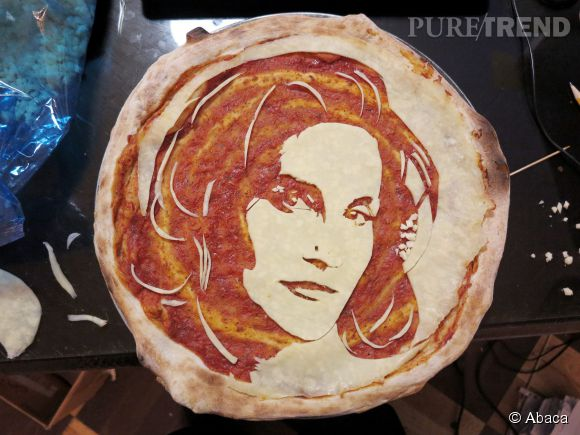 Caitlyn Jenner version pizza.