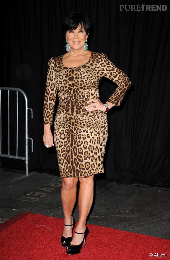 Kris Jenner : la tigresse est de sortie !