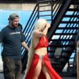 L'incident culotte ne semble pas déranger outre mesure Lady Gaga.