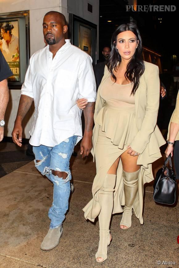 Le couple West a une fois de plus attiré tous les regards.
