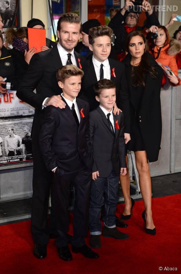 Toute la famille Beckham s'illustre dans la mode, même les plus jeunes.