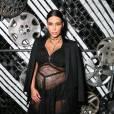 Kim Kardashian enceinte et ça se voit !