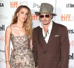 Johnny Depp et Amber Heard : un couple glamour et complice à Toronto
